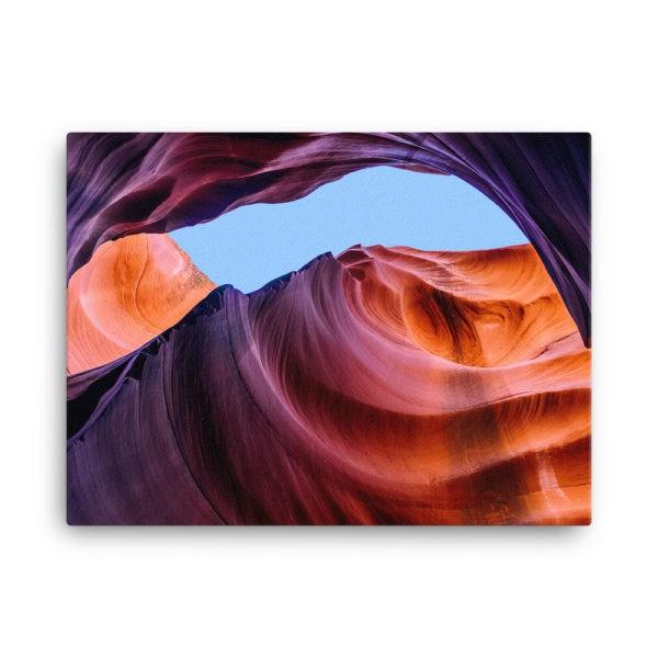 Antelope Canyon in Arizona, USA. Photo Print Canvas
