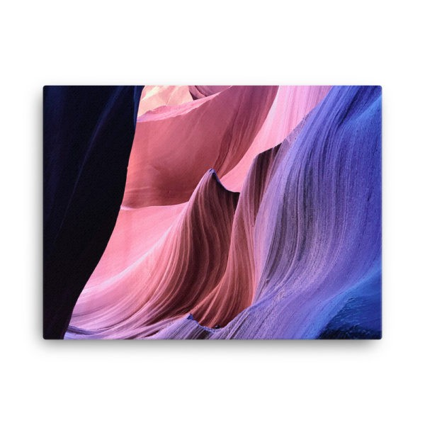 Antelope Canyon in Arizona, USA. Photo Print Canvas
