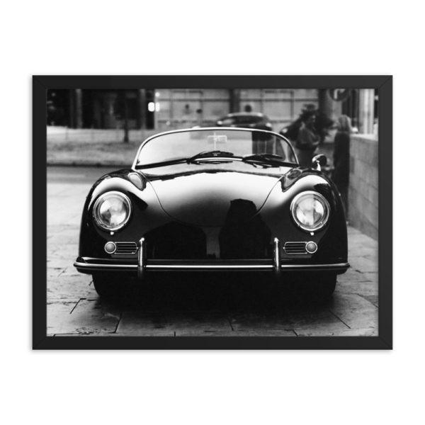 Classic Retro Auto. Framed Photo Poster