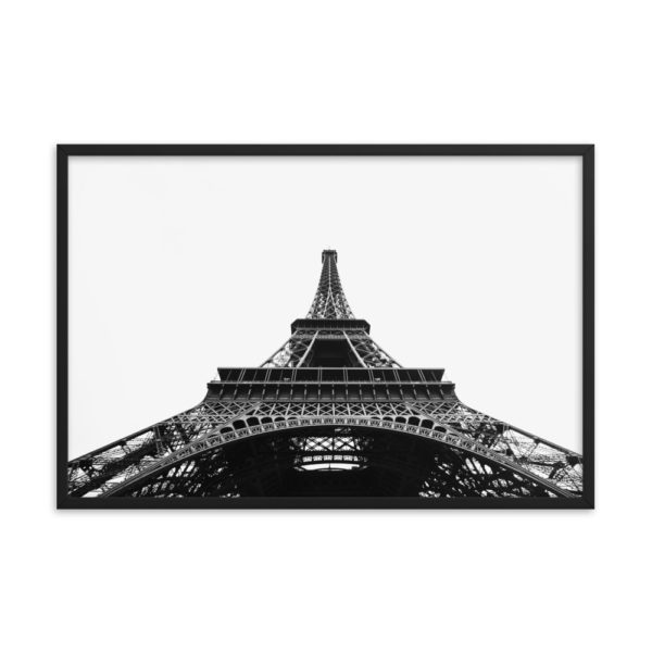 Eiffel Tower Framed Photo Poster