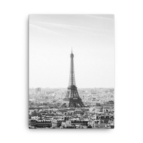 Eiffel Tower Photo Print Canvas