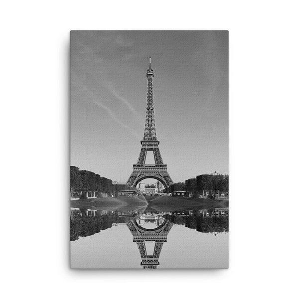 Eiffel Tower Photo Print Canvas