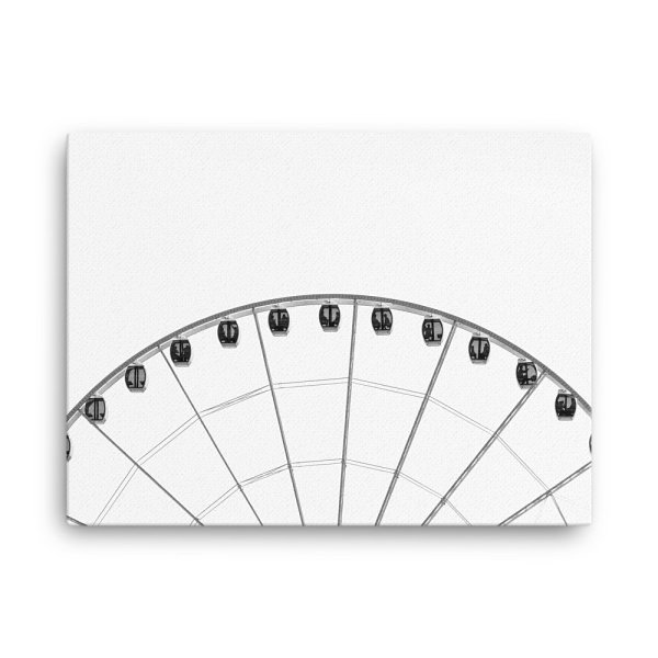 Ferris Wheel Photo Print Canvas