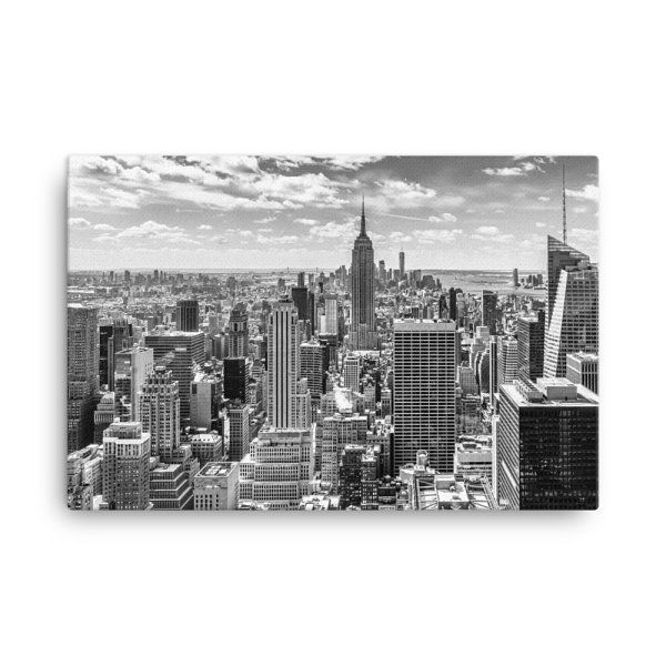 New Your City Buildings, USA. Photo Print Canvas