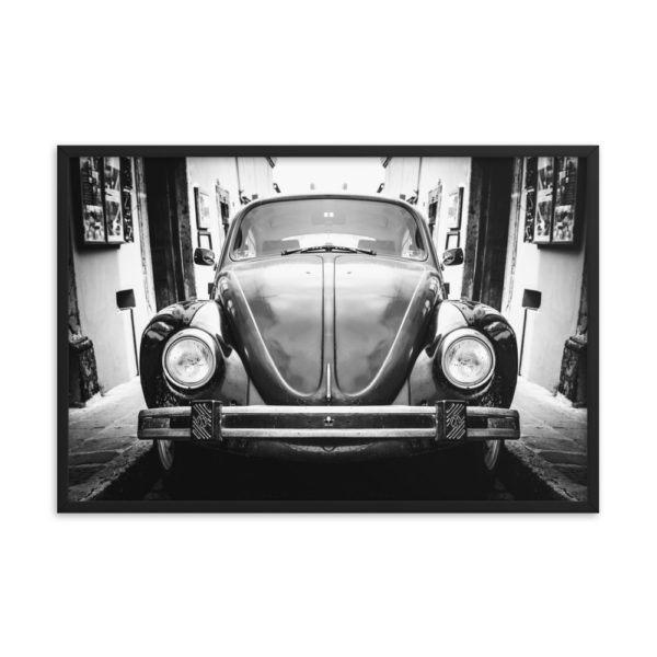 Old Classic Retro Auto. Framed Photo Poster