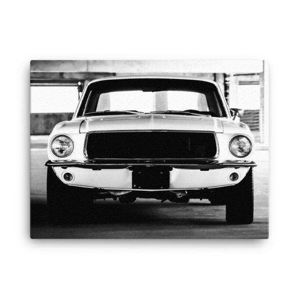 Old Classic Retro Auto. Photo Print Canvas